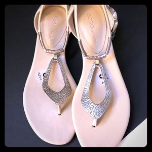 NWOT BCBGenaration sandals sz 6.5